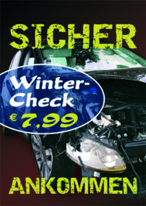 Plakat Wintercheck