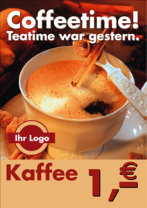coffee advertising