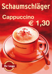 cappuccino plakate